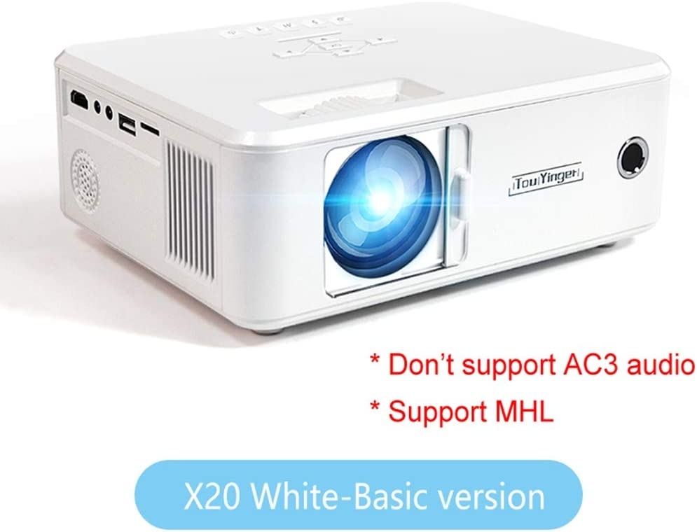 WHLDCD Proyector Mini proyector de la Marca LED Full HD 1080P ...