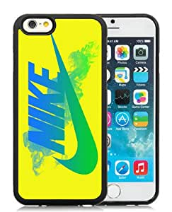 Nike Just do it 73 Black Silicone TPU iPhone 6 4.7 Inch Protective Case