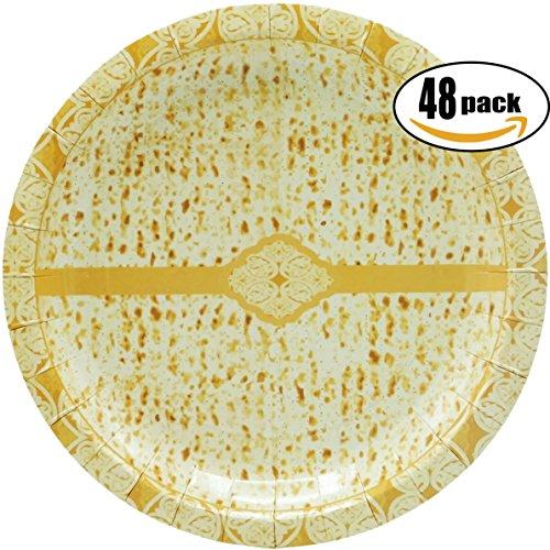 Passover Matzah Design Paper Goods Party Set (Matzah Design 7