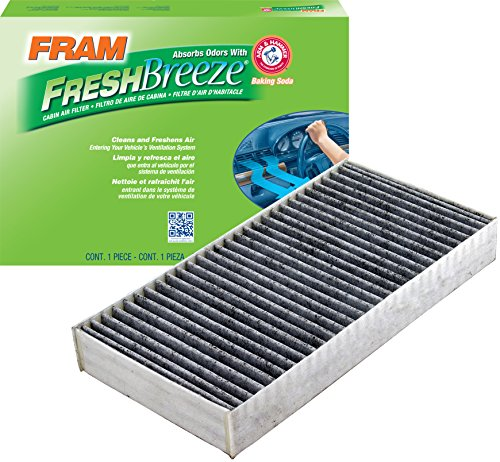 FRAM CF10900 Fresh Breeze Cabin Air Filter with Arm & Hammer