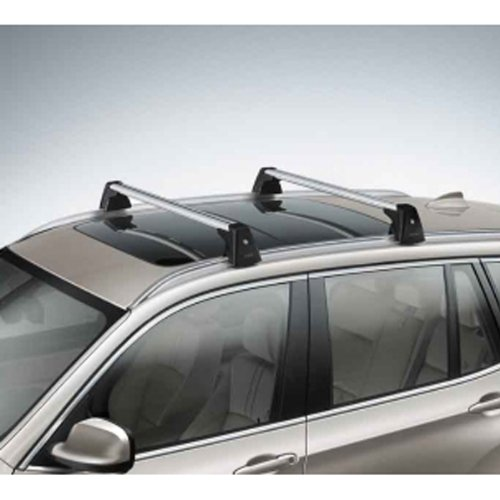 Factory Roof (BMW X3 F25 Genuine Factory OEM 82712338614 Profile Roof Rack Cross Bars 2013 -)