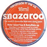 Snazaroo Professional Non Toxic Washable Water Based Reusable Kids Fun School Fete Face Paint Pots Over 30 Colours (18ml Orange)
