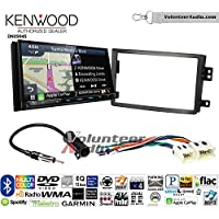 Volunteer Audio Kenwood Excelon DNX994S Double Din Radio Install Kit with GPS Navigation Apple CarPlay Android Auto Fits 2006-2009 Nissan 350Z