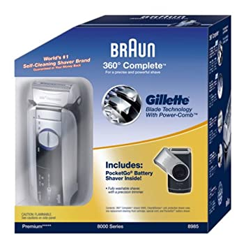 amazon com braun 8985 360 complete mens shaver special pack rh amazon com