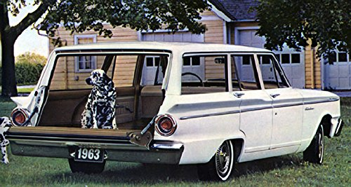 Amazon com: 1963 Ford Fairlane 500 Custom Ranch Wagon