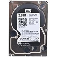 Western Digital WD Black 2TB Performance Desktop Hard Disk Drive - 7200 RPM SATA 6 Gb/s 64MB Cache 3.5 Inch - WD2003FZEX