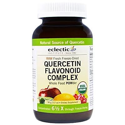 Eclectic Institute, Quercetin Flavonoid Complex, Whole Food POWder, 3.2 oz (90 g) - 3PC