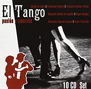 El Tango: Pasión y Emoción: Carlos Gardel, Astor Piazzolla: Amazon.es: Música