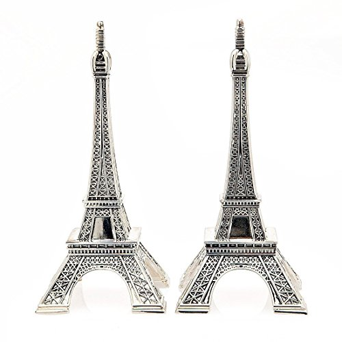 (Godinger Silver Metal Eiffel Tower Salt and Pepper Shakers)