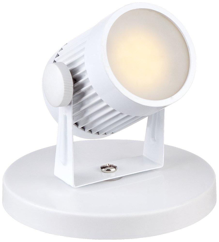 Downey 2 3/4'' High White LED Mini-Uplight