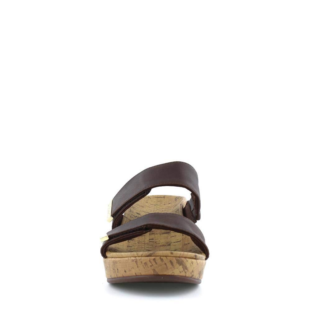 c276cd143b Amazon.com   Vionic Women's Atlantic Pepper Adjustable Platform Sandal -  Ladies Wedge with Concealed Orthotic Arch Support   Platforms & Wedges
