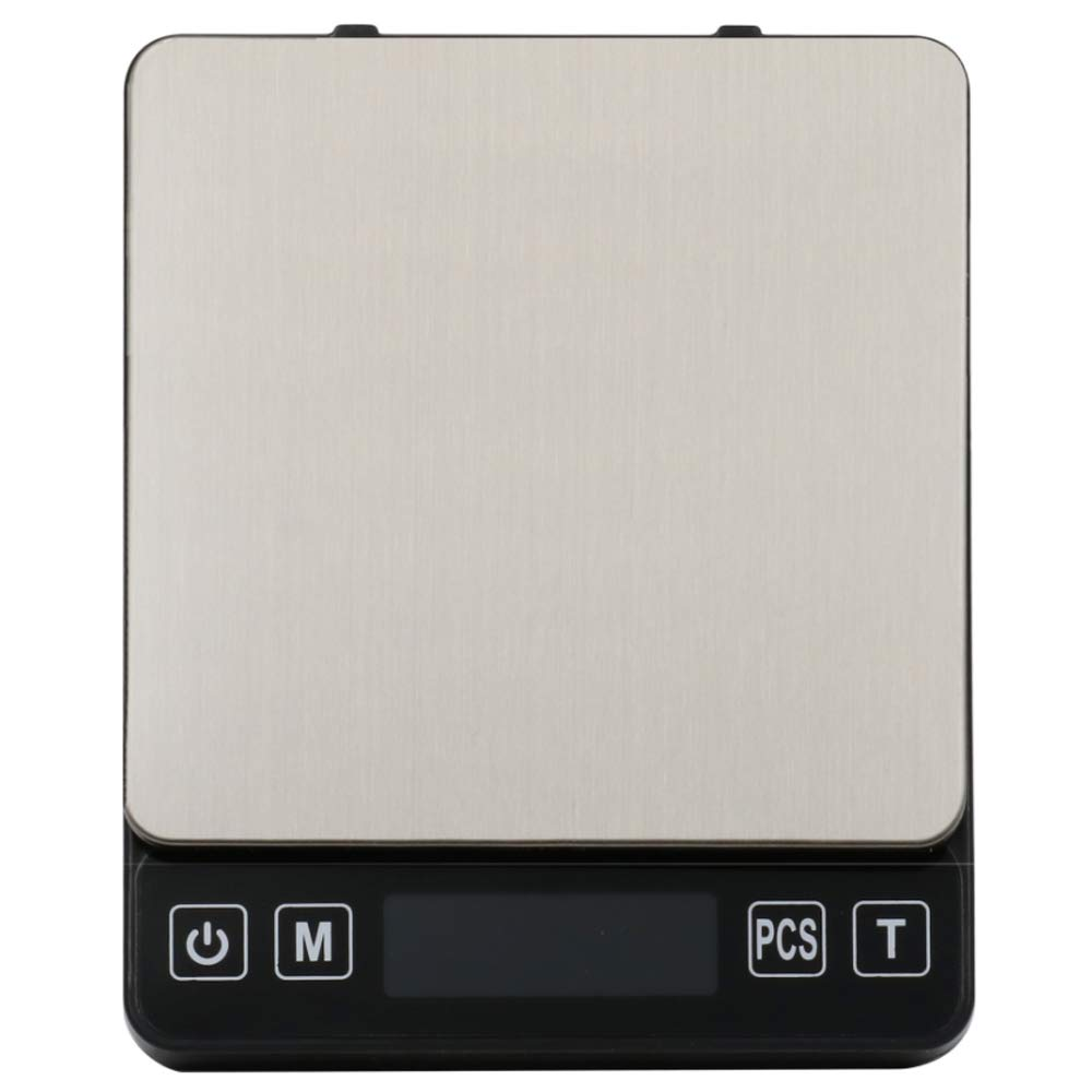 JKYQ Salter añadir y Pesar de Cocina mecánica Escamas de Hornear de Acero Inoxidable hogar Escala gramo Escalas de la joyería 12.6 * 10 * 2cm: Amazon.es: ...