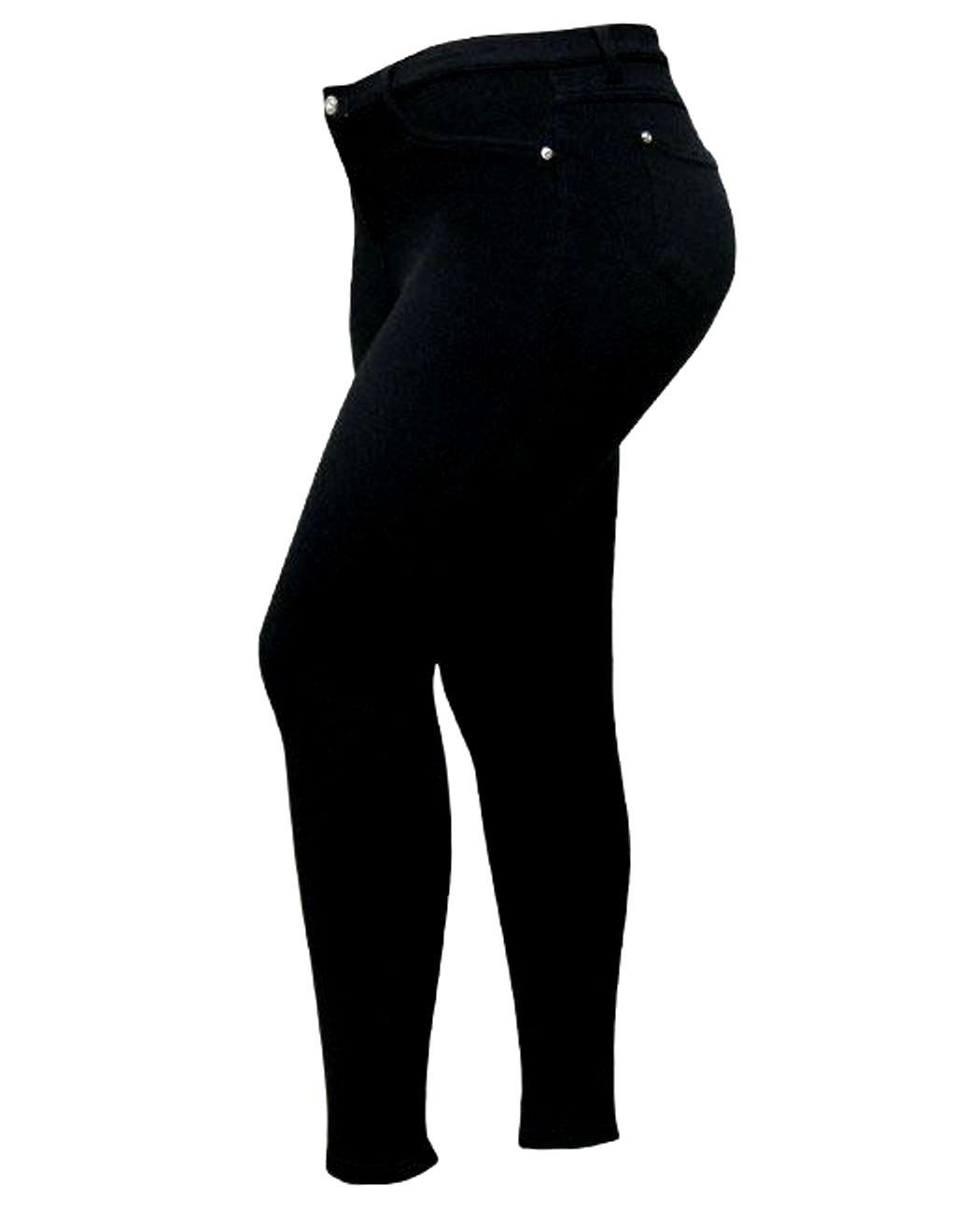 1826 Women's Butt Lift Plus Size Super Comfy Moleton Skinny Stretch Jeggings Legging Cotton Yoga Pants