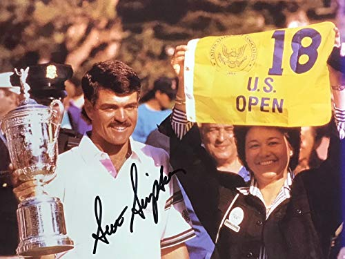 Scott Simpson Signed Golf 8x10 - Scott Simpson Photo