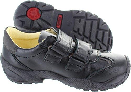 Primigi  Ten 1, Chaussures de ville à lacets pour garçon noir noir