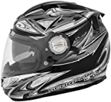 Scorpion EXO-1100 Street Demon Silver Full Face Helmet - XL
