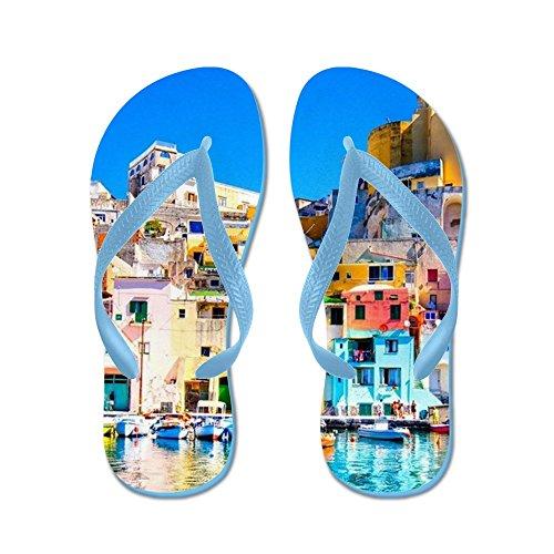 Cafepress Napels Italië - Flip Flops, Grappige String Sandalen, Strand Sandalen Caribbean Blue