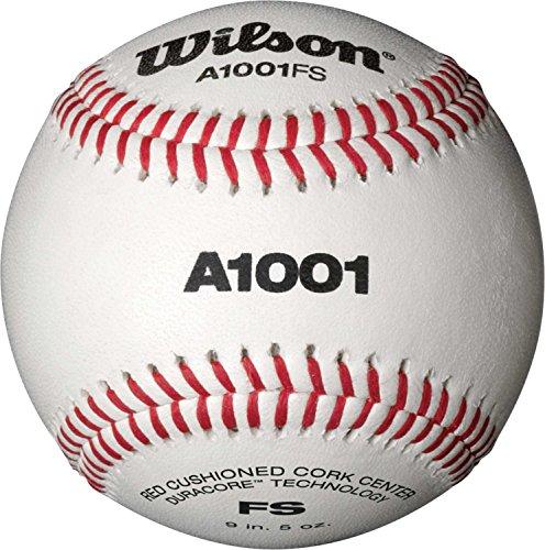 Wilson A1001 Collegiate Flat Seam Baseball (Dozen) by Wilson