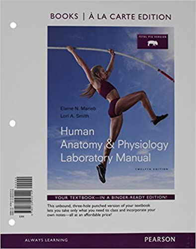 Amazon com: Human Anatomy & Physiology Laboratory Manual
