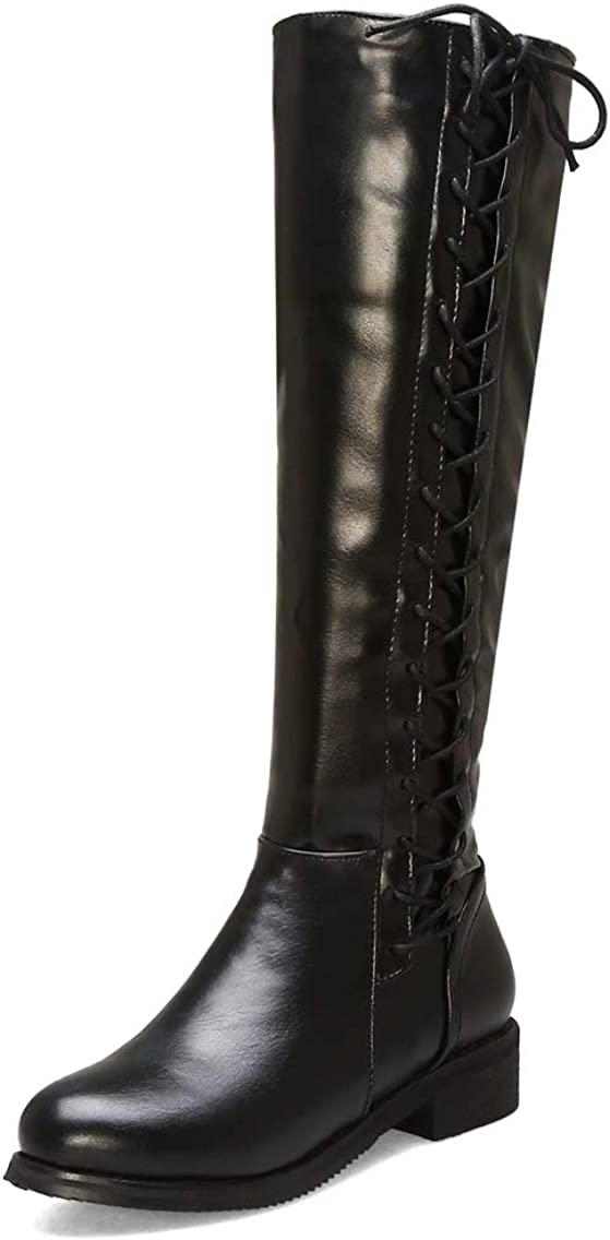 Womens Wide Calf Winter Cowgirl Boots