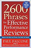 img - for 2600 Phrases for Effective Performance Reviews: Ready-to-Use Words and Phrases That Really Get Results (UK Professional Business Management / Business) book / textbook / text book