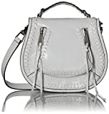 Rebecca Minkoff Small Vanity Saddle, Optic White