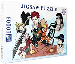 1000 piece puzzle cartoon Naruto Pattern