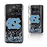 Keyscaper NCAA North Carolina Tar Heels KCLRS8-0UNC-FETTI1 Samsung Galaxy Clear Case, Galaxy S8, Clear