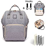 Diaper Bag Multi-Function Waterproof Travel Backpack...
