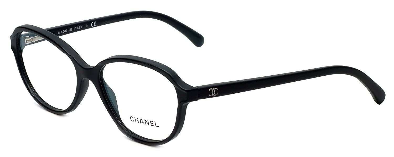 d818cda800 Amazon.com  Chanel Designer Eyeglasses 3316-501-52mm in Matte-Black 52mm  DEMO LENS  Clothing