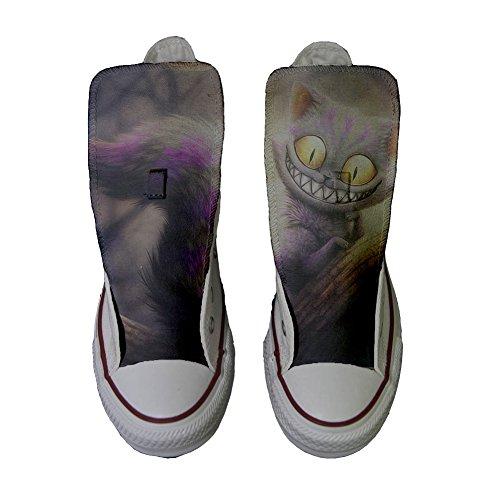 Scarpe Converse All Star personalizzate (scarpe artigianali) Occhi di gatto - TG40
