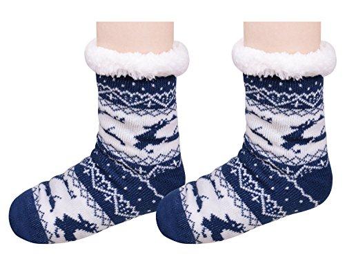 Pantofole Sfilate Di Natale Calde Pantofole Da Camera Da Letto Calzini Antiscivolo Per Le Donne