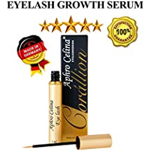 Eyelash Growth Serum Organic Lash - Corallion Blended Nutrient Strengthens At The Roots Rich Herbal Extracts Lash Growth German Advanced Formula Guaranteed Longer Thicker Lashes and Brows