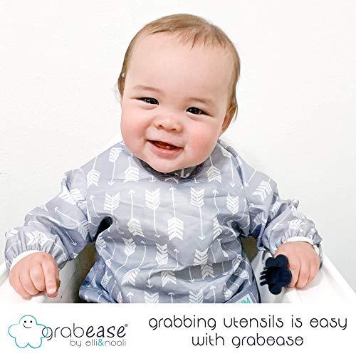 GRABEASE Baby Utensils (Green)