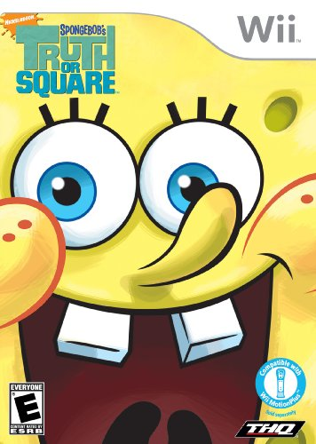 SpongeBob Truth Or Square - Nintendo Wii (Drawing Game For Wii)