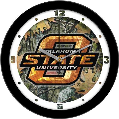 SunTime NCAA Oklahoma State Cowboys Wall Clock - Camo