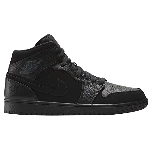 first rate fc26c c7c1b Nike Air Jordan 1 Mid, Scarpe da Basket Uomo, Multicolore (Black Dk