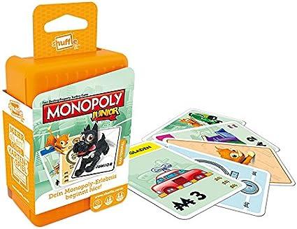 ASS Altenburger 22502779 - juego de cartas aleatoria Monopoly junior: Amazon.es: Juguetes y juegos