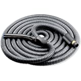 Broan-NuTone CH230L High Performance Wire-Reinforced Vinyl Central Vacuum with Hose On/Off Switch, 42-Feet