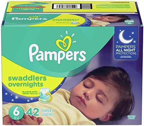 Pampers Overnights Disposable 42 SUPER
