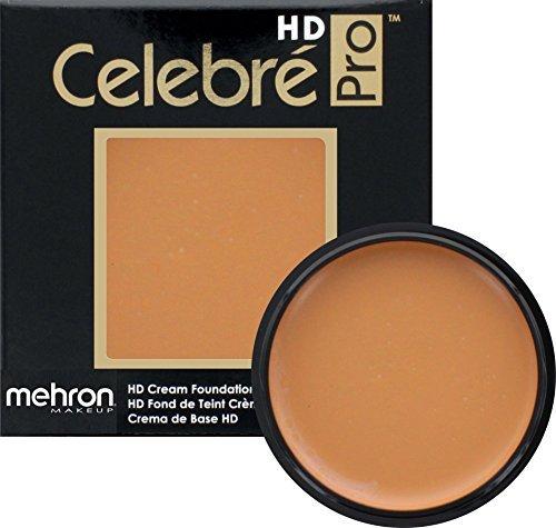 Mehron Makeup Celebre Pro-HD Cream Face & Body Makeup (.9 oz) (MEDIUM DARK (Medium Dark Olive)