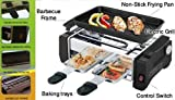 ISABELLA 1000W Electric Barbecue Grill And Tandoor With Frying & Roasting Function (285x110x180 MM)