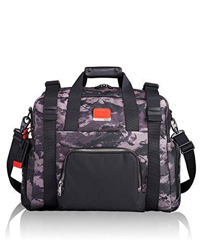 Tumi Men's Alpha Bravo Buckley Duffel Bag, Charcoal Restoration, One Size