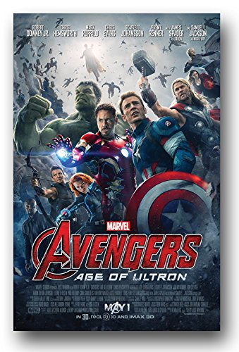 Avengers Age of Ultron Poster - Movie Promo 11 x 17