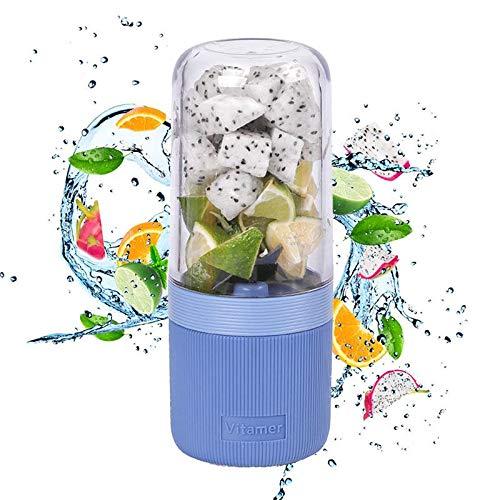 Licuadora portátil Mini Travel Juice Cup, 400 ml de carga USB ...
