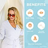 Swannies Blue Light Blocking Glasses - Gamer and Computer Eyewear for Deep Sleep and Digital Eye Strain Prevention - by Swanwick Sleep