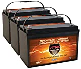 120 ah deep cycle battery - QTY3 VMAX MR137-120 12V 120AH AGM Deep Cycle Group 31 Batteries for Minn Kota Ulterra 112/US2 36V 112lb Trolling Motor
