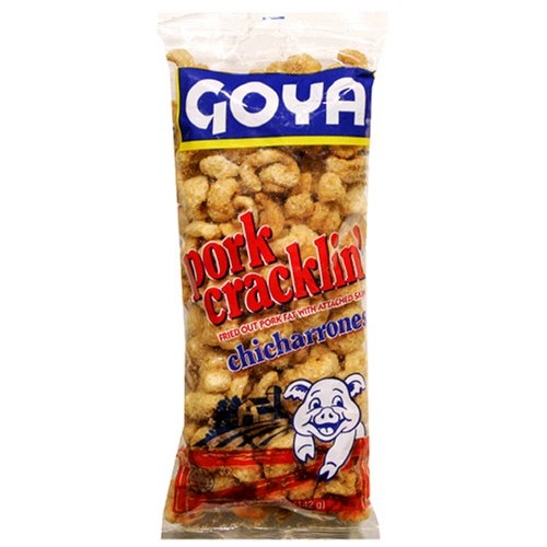 Goya Pork Cracklin Chicharrones, 5-Ounce Units (Pack of 24)