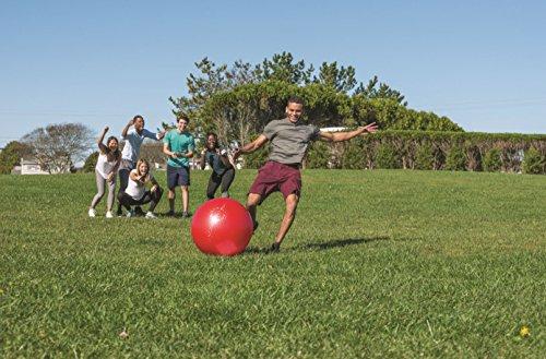 51xe8KC0EQL - Wicked Big Sports Kickball-Supersized Kickball Outdoor Sport Tailgate Backyard Beach Game Fun for All