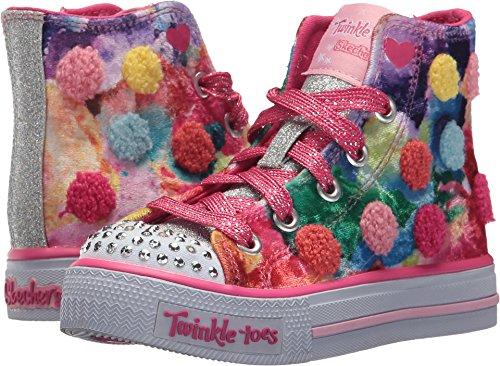 Skechers 10849L Girl's Twinkle Toes: Shuffles - Pom Pom P...